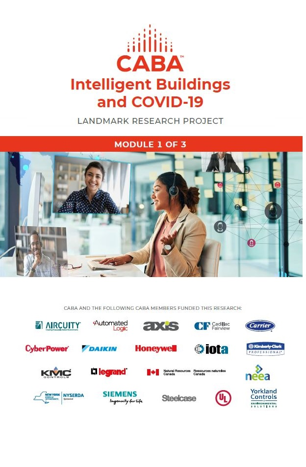 Intelligent Buildings and COVID-19